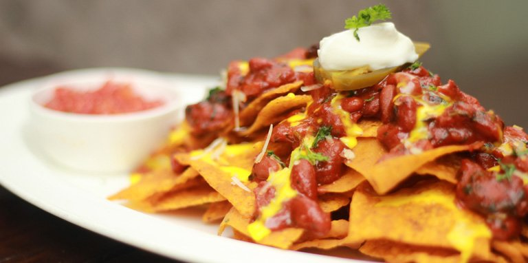 Nachos With Beans - Effingut